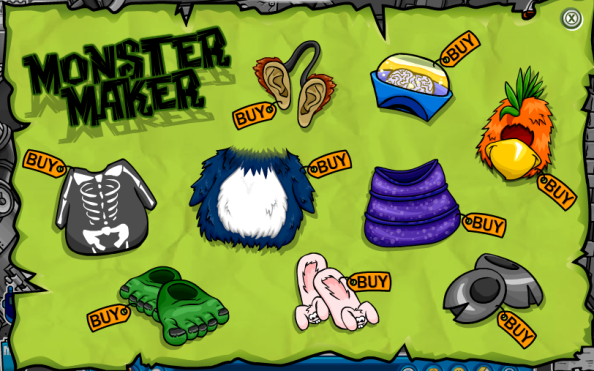 HalloweenPartyMonsterCatalog