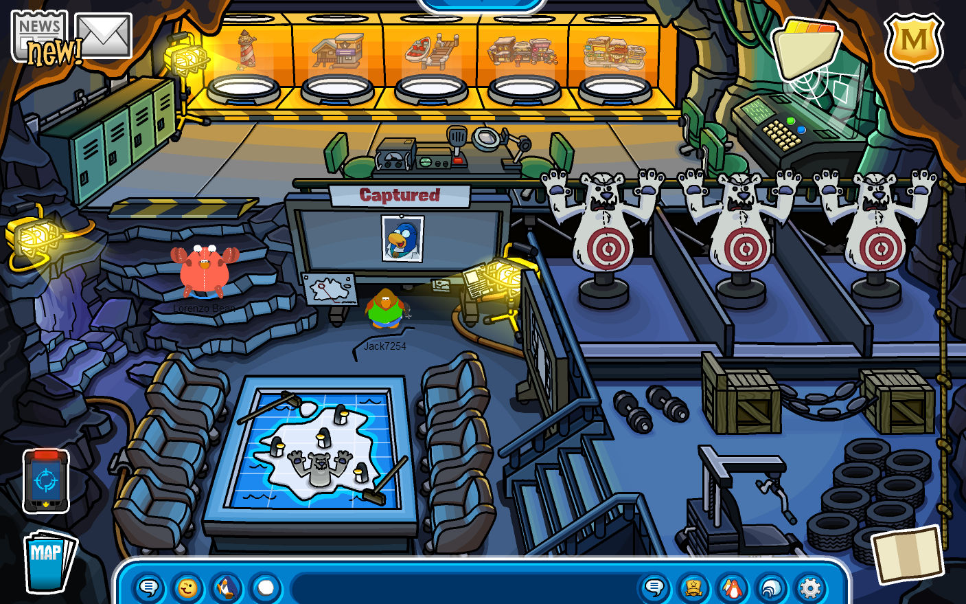 how to get black key club penguin
