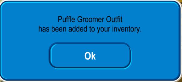 PuffleGroomerOutfit
