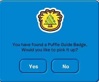 PuffleGuideBadgePinPickup